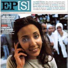 Coleccionismo de Periódico El País: 2002. JOSÉ MARÍA VIZCAÍNO. LA PAQUERA DE JEREZ, CONQUISTA JAPÓN. MARIAH CAREY. VER SUMARIO.. Lote 146945878