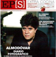 Coleccionismo de Periódico El País: 2002. EL DÍARIO DE ALMODÓVAR. MANAT Y CRUZ, LOS INVENTORES DE O.T.. SHAKIRA. PASTUNES. VER SUMARIO.. Lote 146947354