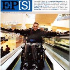 Coleccionismo de Periódico El País: 2002. JORGE OTEIZA. ESTRELLA MORENTE. FRANCISCO BOIX. JOSÉ PEÑIN. STEVEN SPIELBERG. VER SUMARIO.. Lote 147181214