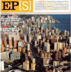 Coleccionismo de Periódico El País: 2002. CHEMA CABALLERO. PEPE CARLETON ABRINES. ALICIA KEYS. ALANIS MORRISSETTE. BRITNEY SPEARS.... Lote 147198186