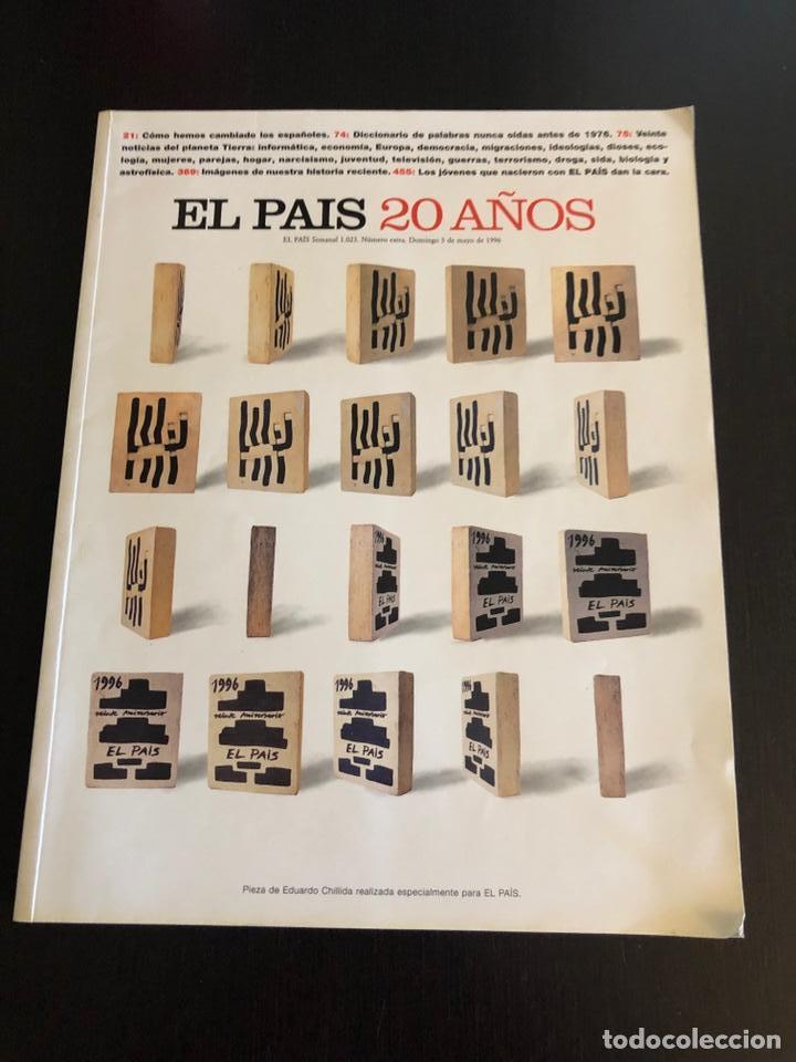 EL PAÍS EDICIÓN ESPECIAL 20 AÑOS (Coleccionismo - Revistas y Periódicos Modernos (a partir de 1.940) - Periódico El Páis)