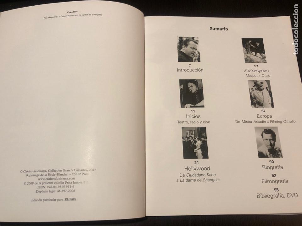 Coleccionismo de Periódico El País: Colección grandes directores. Orson Welles - Foto 2 - 148232337