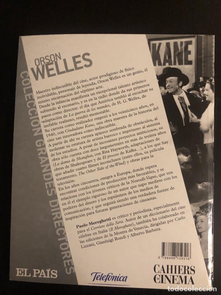 Coleccionismo de Periódico El País: Colección grandes directores. Orson Welles - Foto 5 - 148232337