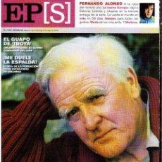 Coleccionismo de Periódico El País: 2004. JOHN LE CARRE. FERNANDO ALONSO. ORLANDO BLOOM. GUILLERMO ALTADILL. VER SUMARIO. Lote 150943658