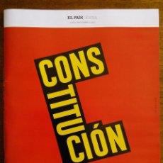 Coleccionismo de Periódico El País: CONSTITUCIÓN [ESPAÑOLA] /// EL PAÍS [EXTRA] /// 40 AÑOS: 1978-2018 /// 6 DE DICIEMBRE DE 2018. Lote 151226518