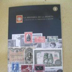 Coleccionismo de Periódico El País: HISTORIA DE LA PESETA N1. Lote 151622026
