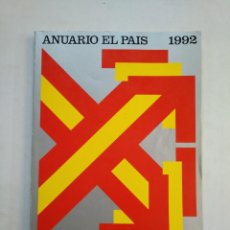 Coleccionismo de Periódico El País: ANUARIO EL PAIS. - 1992. TDKR45. Lote 151974898