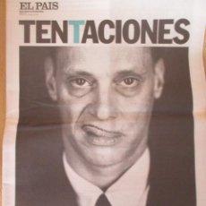 Coleccionismo de Periódico El País: JOHN WATERS - EL PAÍS DE LAS TENTACIONES Nº 360 - 2000. Lote 153243282