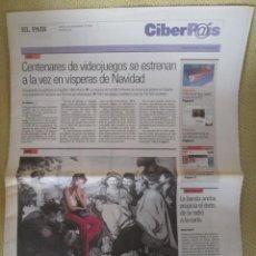 Coleccionismo de Periódico El País: CIBERPAIS Nº 432 2006. Lote 154017494
