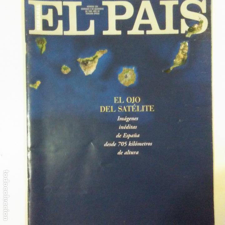 PAIS SEMANAL NUM 250 3-12-1995 VICTOR ULLATE. KETAMA. LOS CAPRICHOS DE GOYA. VER FOTOS SUMARIO (Coleccionismo - Revistas y Periódicos Modernos (a partir de 1.940) - Periódico El Páis)