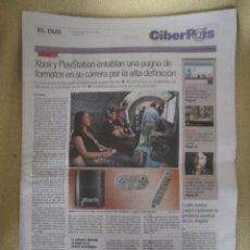 Coleccionismo de Periódico El País: CIBERPAIS Nº 413 2006. Lote 155647350