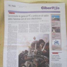 Coleccionismo de Periódico El País: CIBERPAIS Nº 366 2005. Lote 155970922