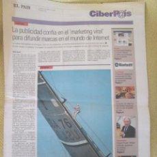 Coleccionismo de Periódico El País: CIBERPAIS Nº 407 2006. Lote 155981646