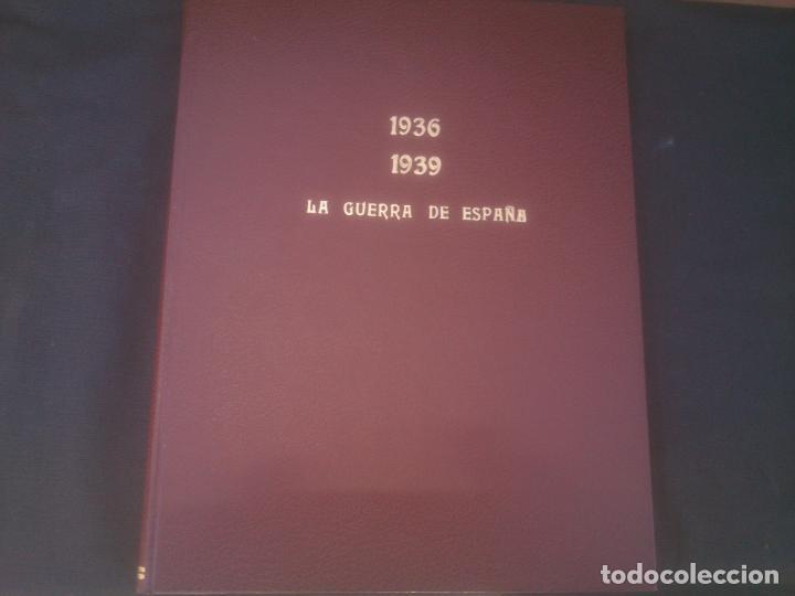 LA GUERRA DE ESPAÑA 1936-1939-COLECCION ENCUADERNADA EL PAÍS,1986-HISTORIA GUERRA CIVIL-ILUSTRADO (Coleccionismo - Revistas y Periódicos Modernos (a partir de 1.940) - Periódico El Páis)