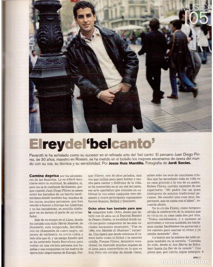 Coleccionismo de Periódico El País: 2004. nevenka fernández.angel gabilondo.uma thurman. juan diego flórez.marilyn monroe.elena anaya. - Foto 6 - 156585046