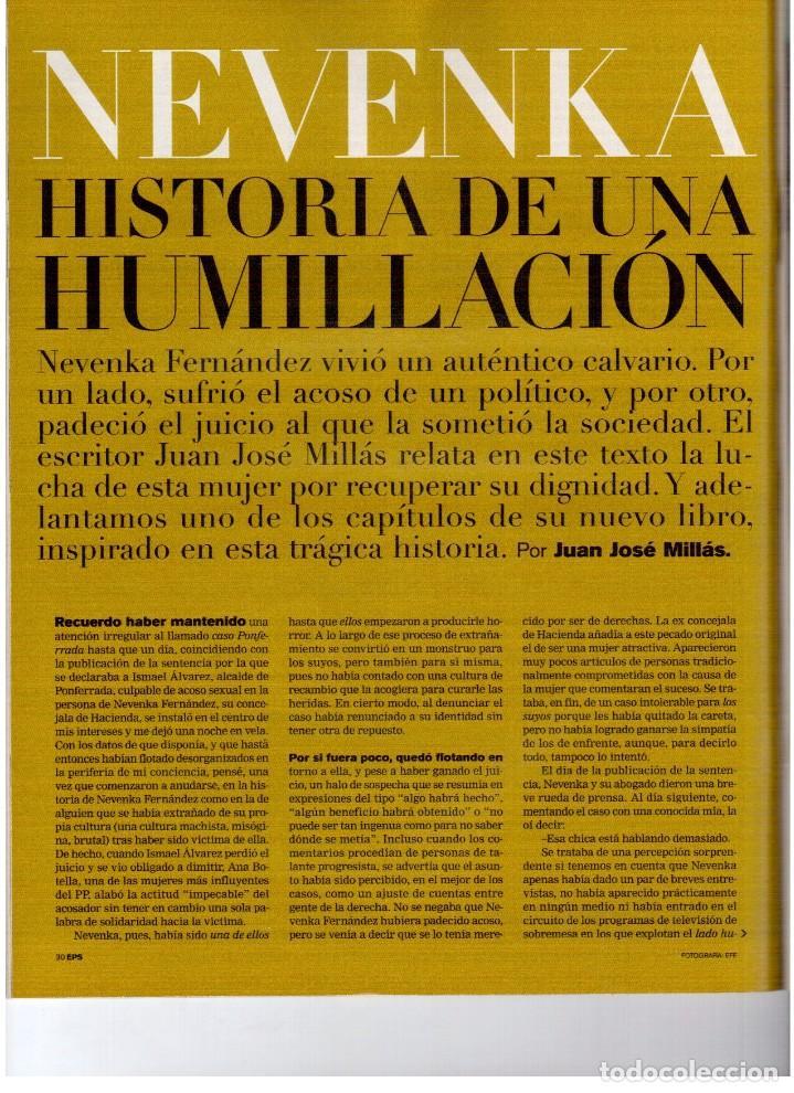 Coleccionismo de Periódico El País: 2004. nevenka fernández.angel gabilondo.uma thurman. juan diego flórez.marilyn monroe.elena anaya. - Foto 7 - 156585046