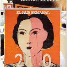 Coleccionismo de Periódico El País: 2015. 2000 DOMINGOS.ALEJANDRO SANZ.NACHO DUATO.VICTORIA ABRIL.SERRAT.ALEX DE LA IGLESIA.AITANA SÁNCH. Lote 156602278