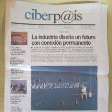 Coleccionismo de Periódico El País: CIBERPAIS Nº 142 2000. Lote 156640390