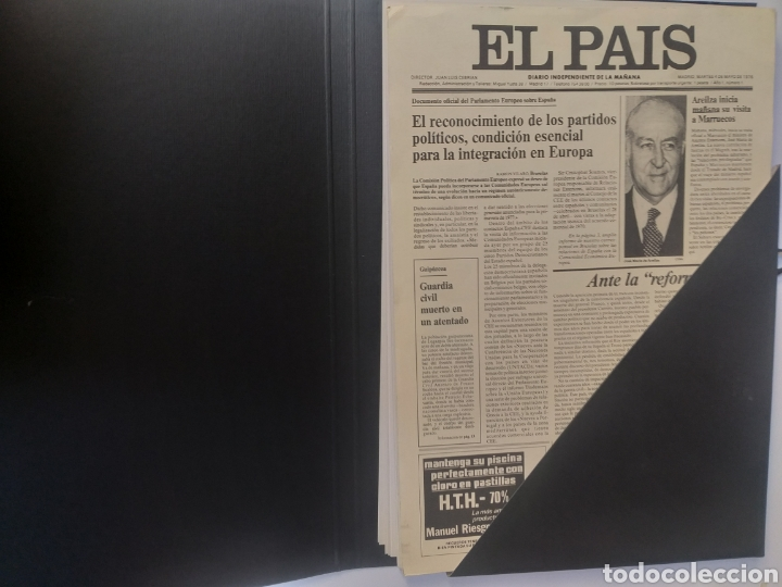 Coleccionismo de Periódico El País: Pensamiento . Las portadas que hacen historia .El pais - Foto 5 - 158033358
