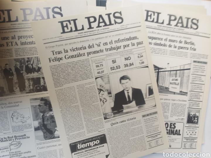 Coleccionismo de Periódico El País: Pensamiento . Las portadas que hacen historia .El pais - Foto 7 - 158033358