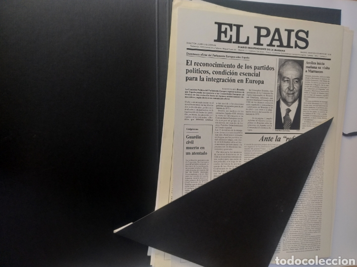 Coleccionismo de Periódico El País: Pensamiento . Las portadas que hacen historia .El pais - Foto 9 - 158033358