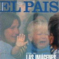 Coleccionismo de Periódico El País: EL PAIS SEMANAL. RESUMEN AÑO 1992. Lote 163525814