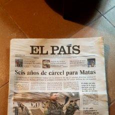 Coleccionismo de Periódico El País: DIARIO EL PAÍS. 21 DE MARZO 2012. Lote 163765288