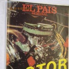 Collectionnisme de Journal El País: REVISTA EL PAÍS SEMANAL ESPECIAL MOTOR Nº 245 DICIEMBRE 1981.. Lote 166532366