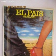 Collectionnisme de Journal El País: EL PAÍS SEMANAL REVISTA Nº 210 ABRIL 1981 - DIVORCIARSE EN ESPAÑA. . Lote 166536990