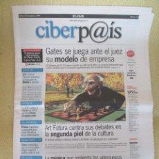 Coleccionismo de Periódico El País: CIBERPAIS Nº 32 1998. Lote 169913492