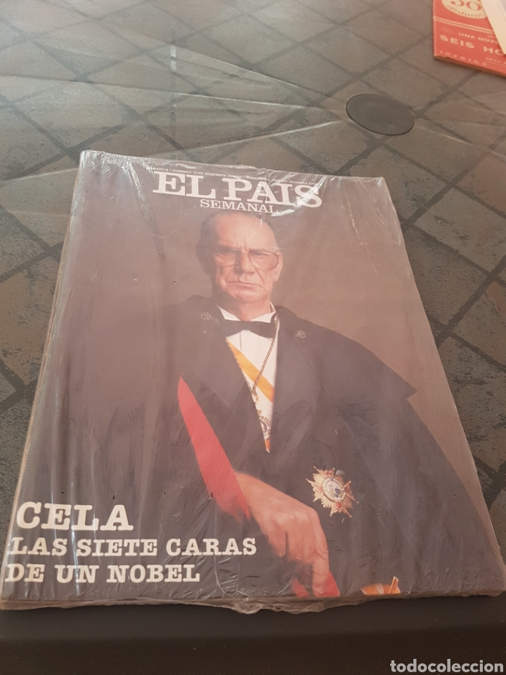 EL PAIS SEMANAL - CELA - LAS SIETE CARAS DE UN NOBEL (Coleccionismo - Revistas y Periódicos Modernos (a partir de 1.940) - Periódico El Páis)