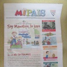 Coleccionismo de Periódico El País: MIPAIS - Nº 35 1999 . Lote 170863060