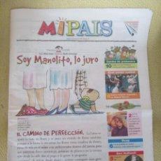 Coleccionismo de Periódico El País: MIPAIS - Nº 34 1999 . Lote 170863145
