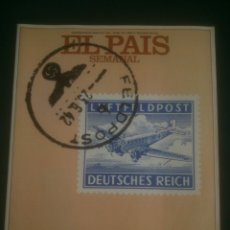 Coleccionismo de Periódico El País: REVISTA SEMANAL EL PAIS Nº220 . 1981 LA DIVISION AZUL. Lote 170966625
