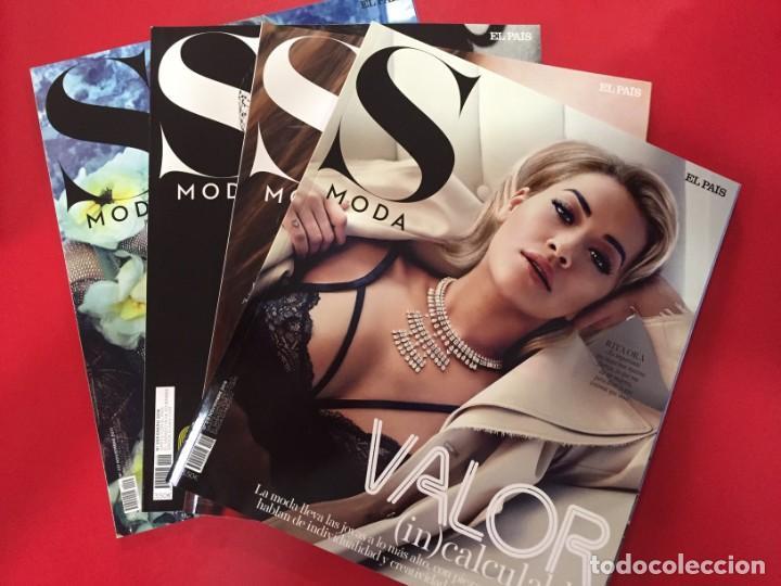 LOTE 002 - 4 REVISTAS MAGAZINE SMODA S MODA - EL PAIS - AÑO 2016 2017 - NUEVAS (Coleccionismo - Revistas y Periódicos Modernos (a partir de 1.940) - Periódico El Páis)