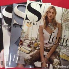 Coleccionismo de Periódico El País: LOTE 003 - 4 REVISTAS MAGAZINE SMODA S MODA - EL PAIS - AÑO 2015 2016 - NUEVAS. Lote 170976813
