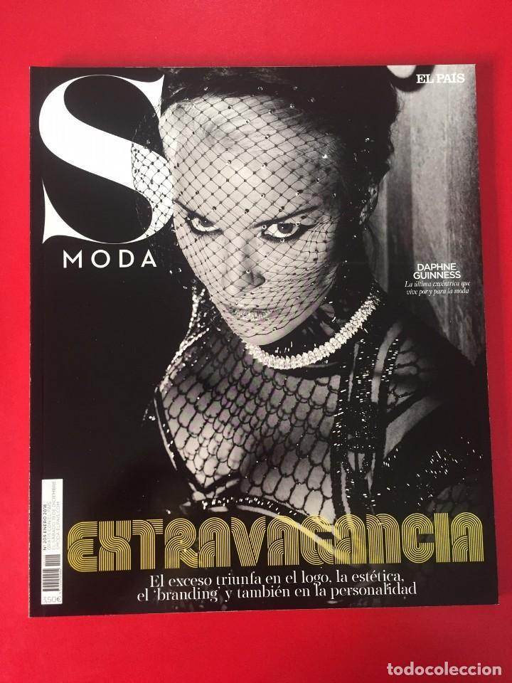 Coleccionismo de Periódico El País: LOTE 006 - 4 REVISTAS MAGAZINE SMODA S MODA - EL PAIS - AÑO 2016 - NUEVAS - Foto 5 - 171223507