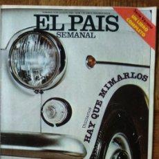 Coleccionismo de Periódico El País: EL PAIS SEMANAL Nº 170 DE 1980- UTILITARIOS 600, 2 CABALLOS, 850, MINI... TEQUILA- MARIA MERCADER. Lote 173049412