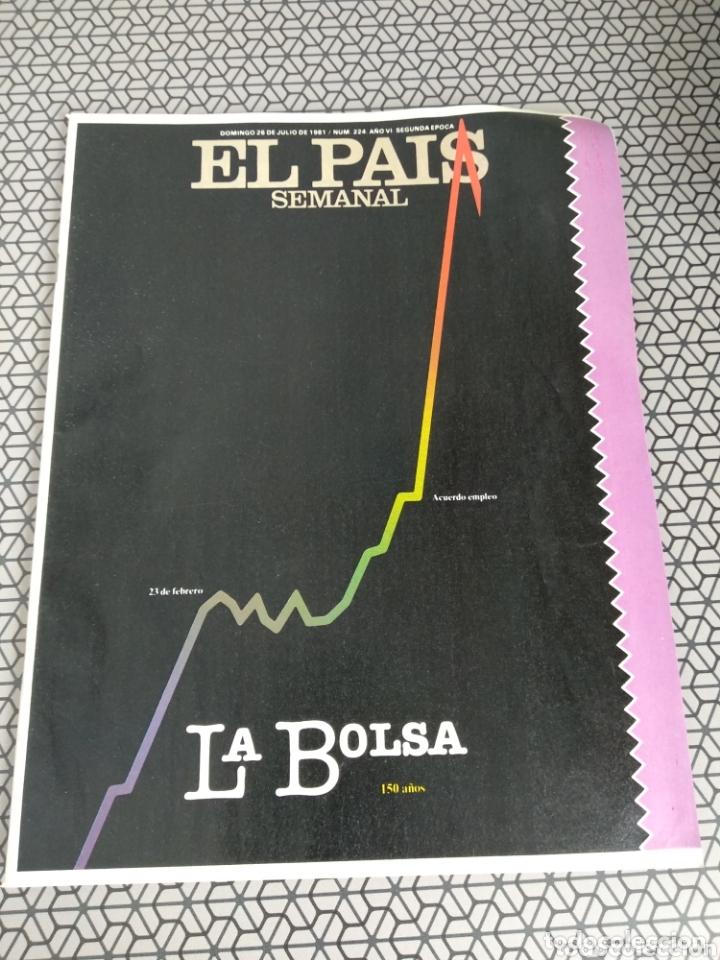 Coleccionismo de Periódico El País: Lote 19 revistas El País Semanal 1981 - Foto 3 - 174029685