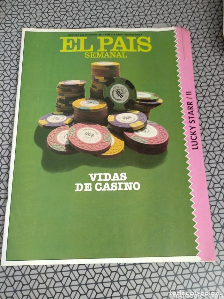 Coleccionismo de Periódico El País: Lote 19 revistas El País Semanal 1981 - Foto 5 - 174029685
