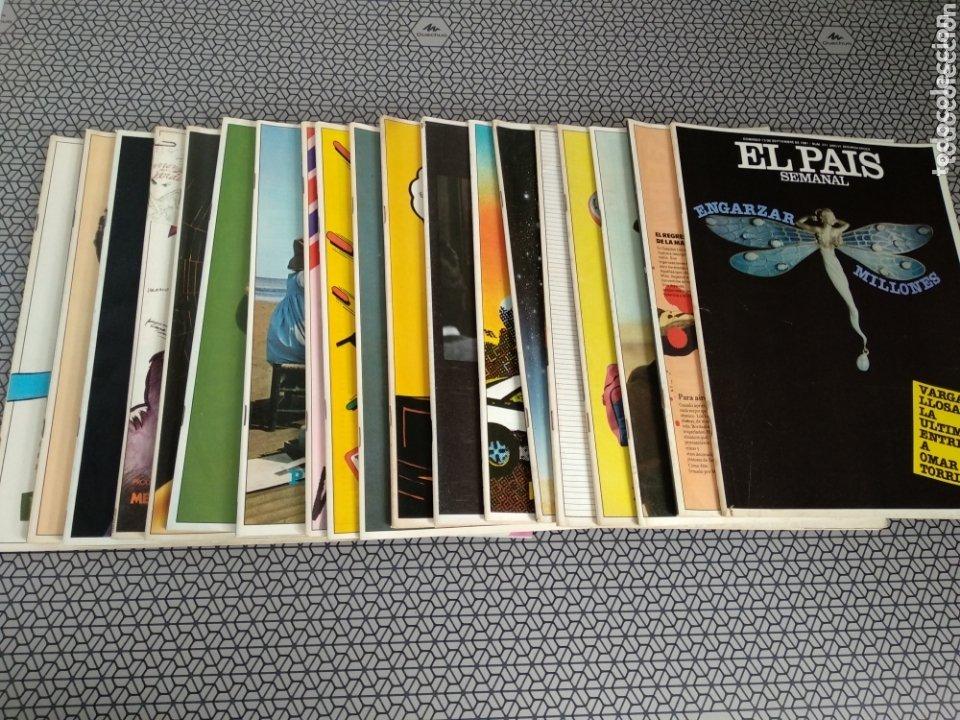LOTE 19 REVISTAS EL PAÍS SEMANAL 1981 (Coleccionismo - Revistas y Periódicos Modernos (a partir de 1.940) - Periódico El Páis)