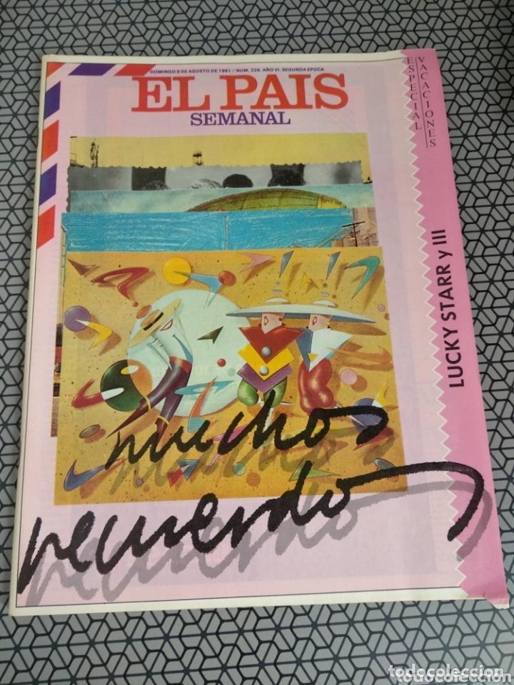 Coleccionismo de Periódico El País: Lote 19 revistas El País Semanal 1981 - Foto 7 - 174029685