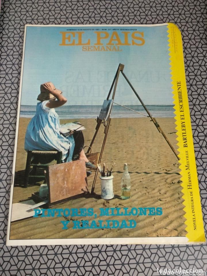 Coleccionismo de Periódico El País: Lote 19 revistas El País Semanal 1981 - Foto 8 - 174029685