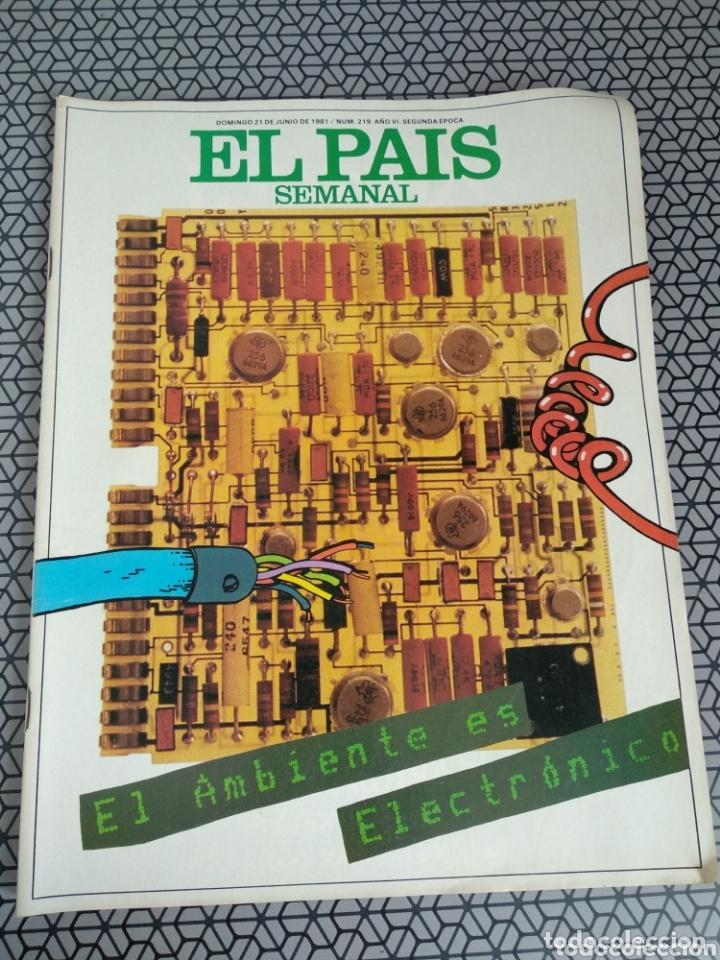 Coleccionismo de Periódico El País: Lote 19 revistas El País Semanal 1981 - Foto 9 - 174029685