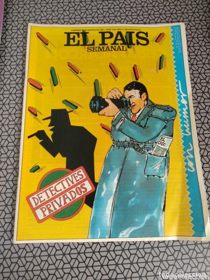 Coleccionismo de Periódico El País: Lote 19 revistas El País Semanal 1981 - Foto 10 - 174029685