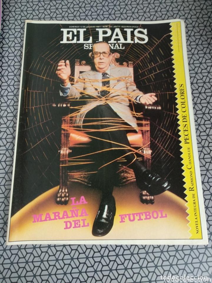 Coleccionismo de Periódico El País: Lote 19 revistas El País Semanal 1981 - Foto 11 - 174029685