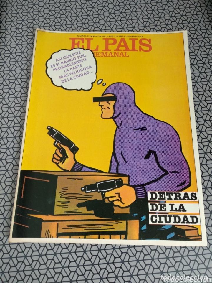 Coleccionismo de Periódico El País: Lote 19 revistas El País Semanal 1981 - Foto 12 - 174029685