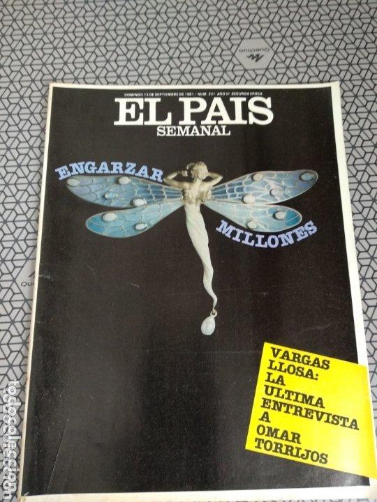 Coleccionismo de Periódico El País: Lote 19 revistas El País Semanal 1981 - Foto 14 - 174029685