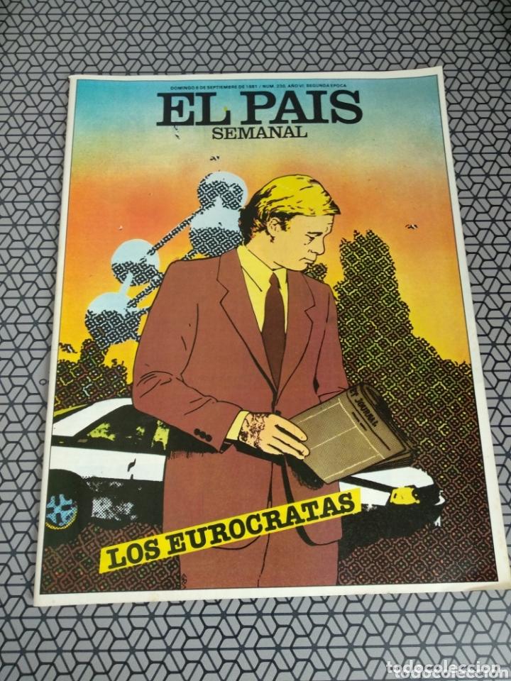 Coleccionismo de Periódico El País: Lote 19 revistas El País Semanal 1981 - Foto 15 - 174029685