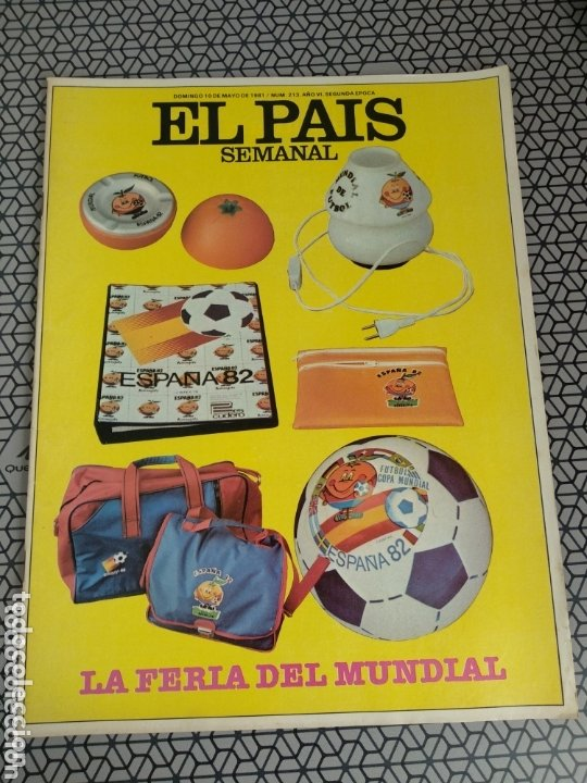 Coleccionismo de Periódico El País: Lote 19 revistas El País Semanal 1981 - Foto 17 - 174029685